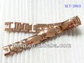 Xlt-2663 degli uomini in oro rosa braccialetto di larghezza braccialetto fibbia