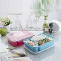 4 bento lunch box Mahlzeit teiler vorratsbehälter festfrieren dienen sicher stor