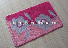 Floor designer washable mats
