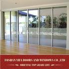hot sale aluminum automatic sliding glass door system
