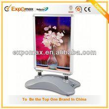 acrylic sheet poster frame led board advertising box aluminum light box extrusion frame lgp