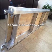 "Aluminum and Plywood Scaffold Walkboard 7'x19"""