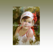 Baby Portrait Painting High Quality Oil Painting