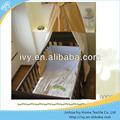 100 tela de algodón hojas de cama para la muñeca y cuna cuna