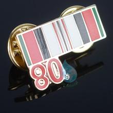 2014 rectangle pin badge memento