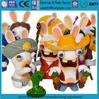Custom plastic rabbit figurines collectables,customized rabbit plastic figurines collectables