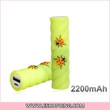 latest design perfume 2600mah power bank Spanish aliexpress