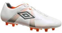 Umbro Speciali GT Pro FG Soccer Shoes (White/Orange)