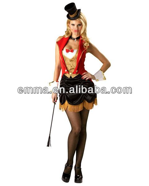 Más el tamaño de circo sexy mujeres del traje maestro de ...