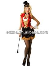 Más el tamaño de circo sexy mujeres del traje maestro de ceremonias de vestuario CW-1625