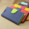 Hot selling Leather wallet with insert card cases back cover for samsung I9300