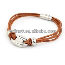 stainless steel bangle with gold screw silicone magnetic bangle fashion