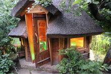New designed prefab wood house