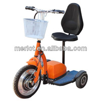 three wheel double seat go kart with CE approved
