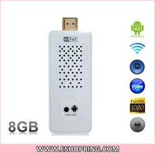 Hi707II Android 4.2 Quad Core RK3188 1.8GHz 8GB Mini PC Android TV Dongle with 3GWi-Fi Bluetooth and 2.0MP Camera