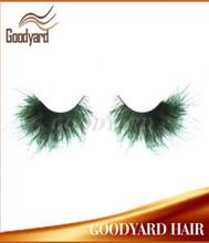 2014 hot color feather fake eyelashes