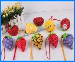 fashional designs foldable bags, fruit foldable shopping bag