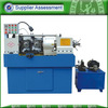Hydraulic steel rod threading machine