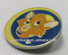 cartoon metal pin badge souvenir