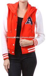 Ladies Varsity Jackets/baseball varsity jackets/varsity jacket