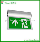 Rechargeable emergency exit signs led lights with CE and RoHS YH-03S