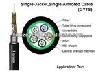 6 Core G655 Fiber Optical Cable