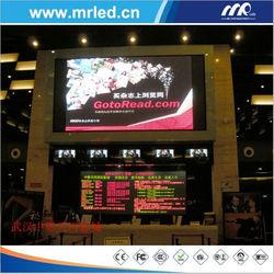 2014 advertising big tv led p4mm display board