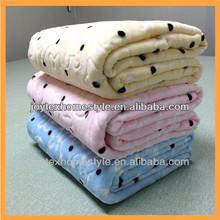 2014 Cheap Fleece Baby Blankets In Bulk / Spanish Blanket JOYTEX