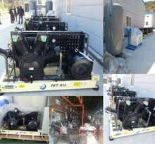 PET-1.0/80 high pressure air compressor for pet blow moulding machine