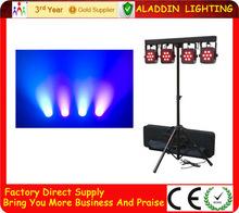 cheap DMX LED 4 head par can price stage lighting