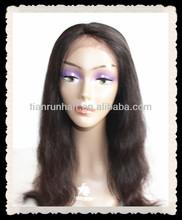 tianrun high quality fashion good feedback hot sell factory price long full lace wig human hair