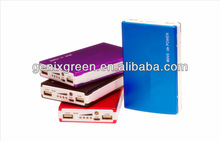 Good surface as promotional gifts portablecharger/10000mah hard disk portable power bank for smart phones