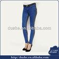 2014 moda estiramento denim jeans