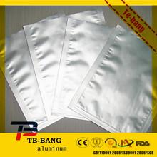 aluminum foil bag with zipper /heat sealed aluminum bag