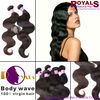Two tone hair weave, hair from one donor remy hair, private label hair products
