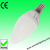 candle led light with 2835SMD angle320 E14base