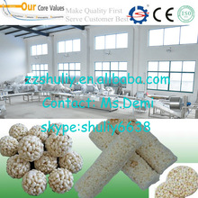 2014 Good quality cereal bar production line/packing cereal bars