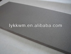 99.95% tungsten plate /w1 tungsten plate /high purity tungsten plate