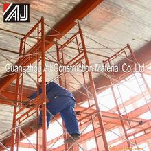 Construcción de acero de sistema de marco