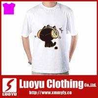 China cheap custom printed t-shirt