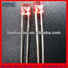 red transparent led blub, 3mm dip lamp led for indicator light