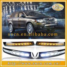 2007-2013 DRL volvo xc90 daylight with turn yellow signal auto lamp Volvo XC90 LED DRL volvo xc90 LED Daytime Running Light