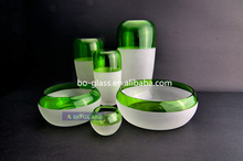 Wholesale Different Types Hand Made Glass Vase