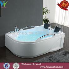 two people massage bathtub / 2014 new design acrylic bathtub