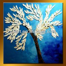 Popular Handmade Home art Tree Oil Painting