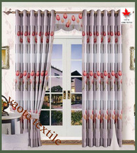 Tulip Blackout with 8 grommets window curtain