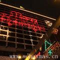 al aire libre de pared decorativos de navidad luz de la cubierta de fábrica al por mayor