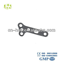 sloping T-shaped steel plates for distal radius bone&foot and hand bone fracture fixation,orthopedic implants