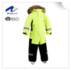 children's outdoor fashionable winter yellow ski suit