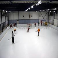 Self-lubricating UHMWPE hockey shooting scoring pad small and large